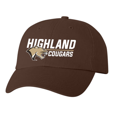 Highland Softstyle Hat Stack Cougar
