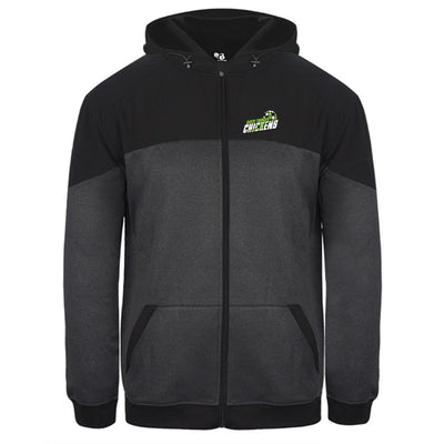 Disco Thunder Chickens Hooded Full Zip