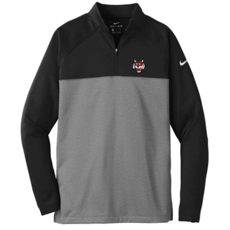 Canton Nike 1/4 Zip Tiger Head