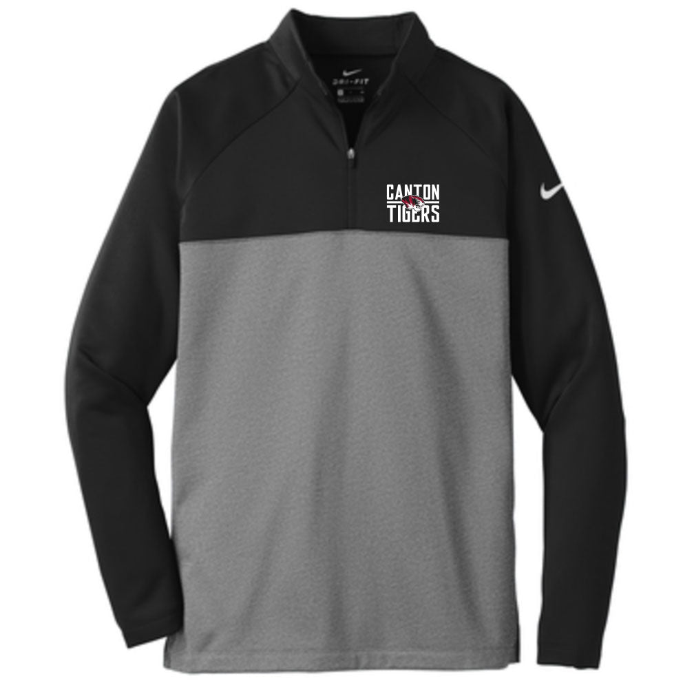Canton Nike 1/4 Zip Center Tiger