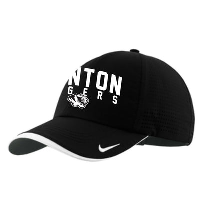 Canton Nike Running Hat Arched Tiger