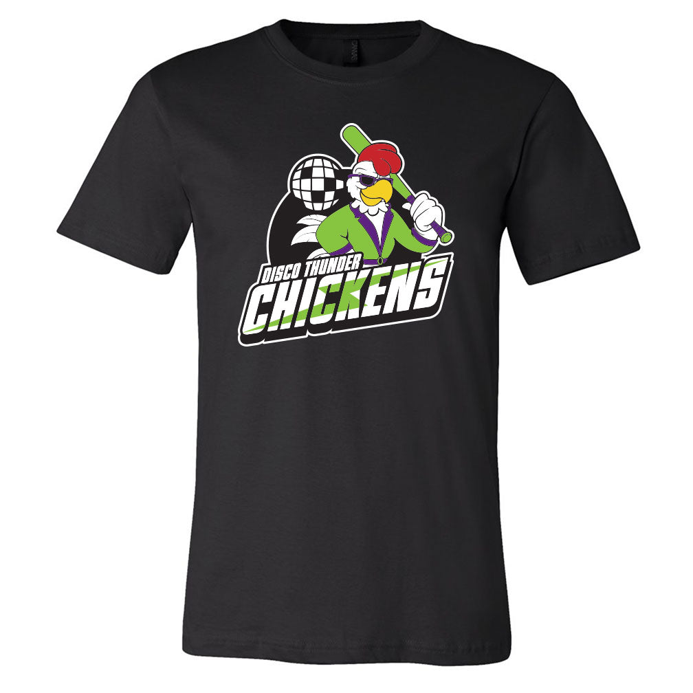 Disco Thunder Chickens Softstyle Tee