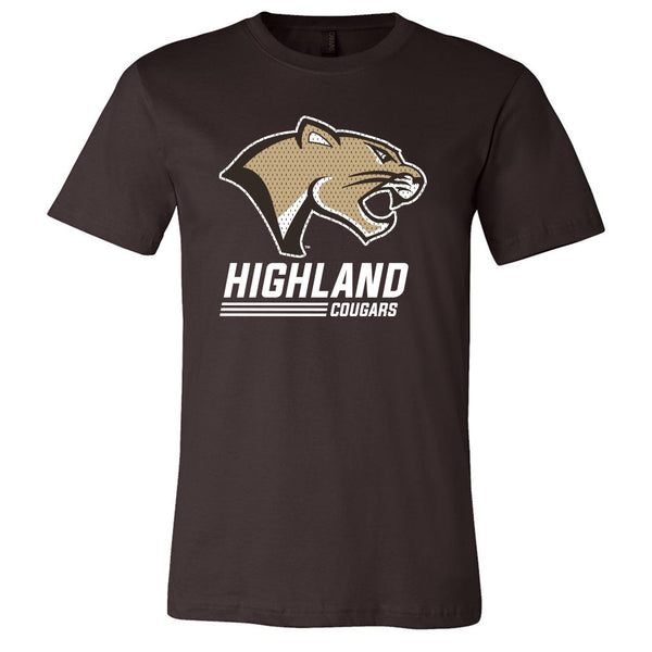 Highland Softstyle Tee Stack Cougar