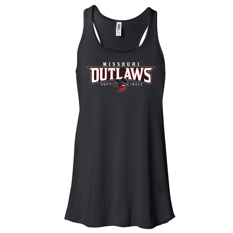 Outlaws Ladies Flowy Tank