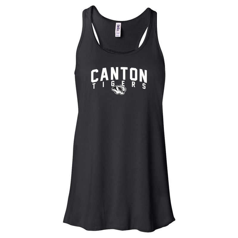 Canton Ladies Flowy Tank Arched Tiger