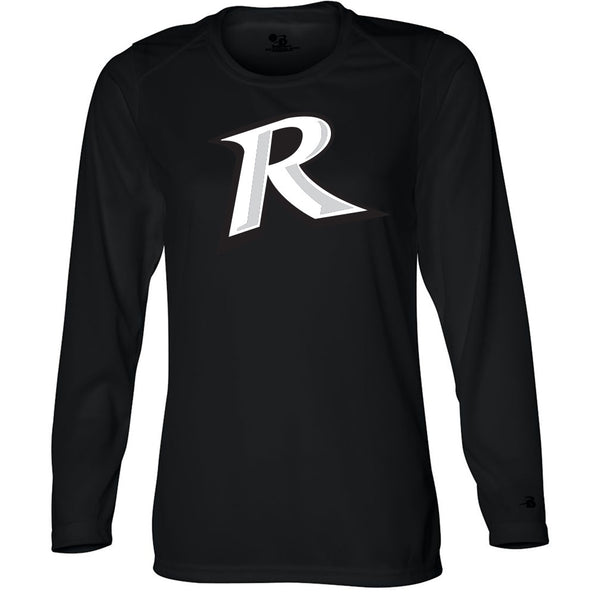 Rebels Ladies Drifit Long Sleeve