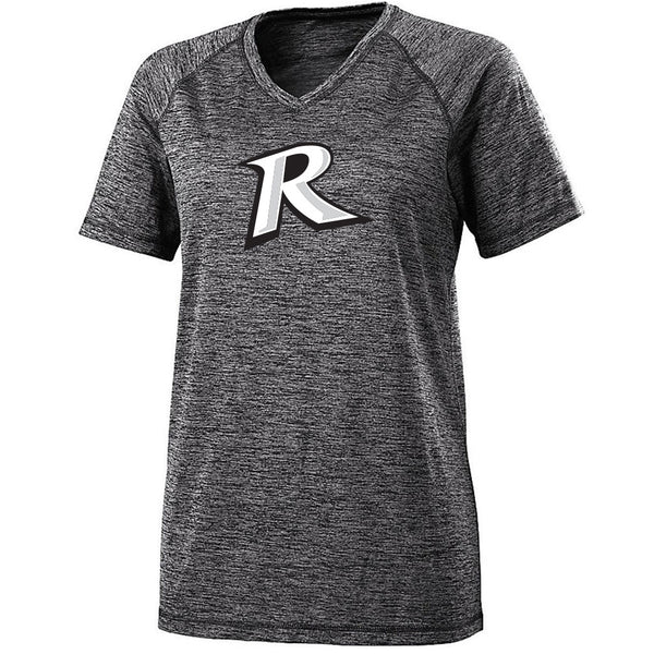 Rebels Ladies Electrify V-Neck Tee