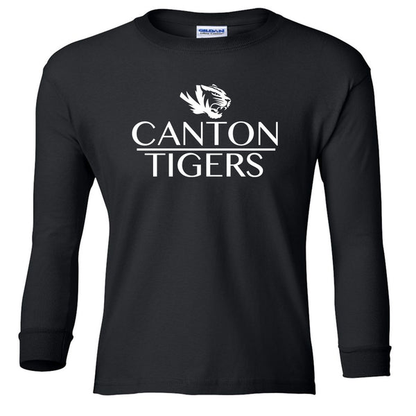 Canton Youth Long Sleeve Stack Tiger