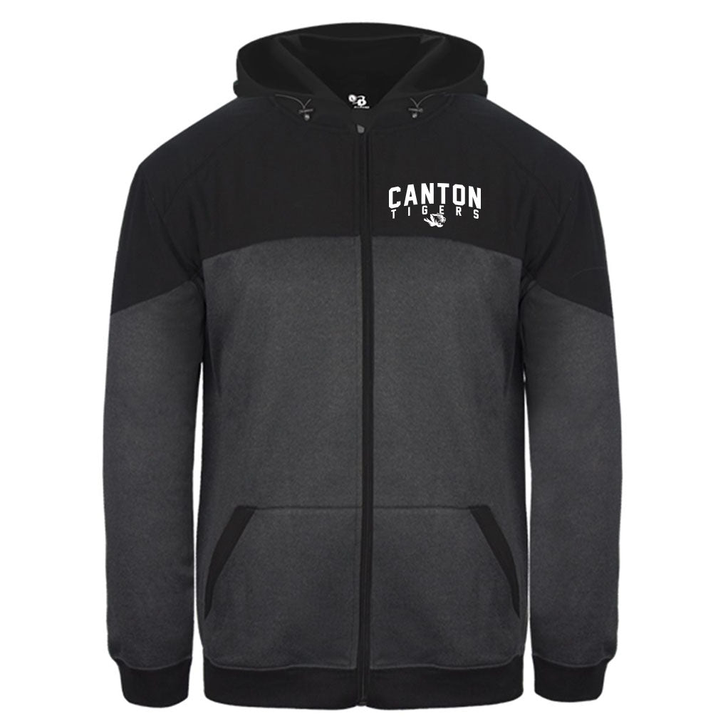 Canton Basketball Full Zip Hooded Sweatshirt