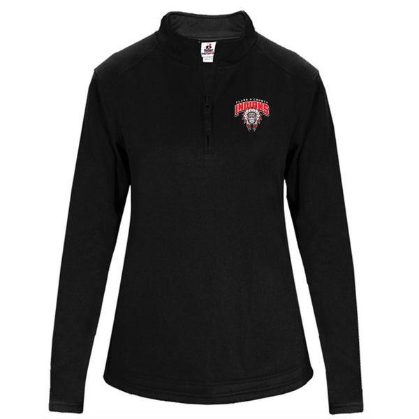 Clark County Ladies Drifit Fleece 1/4 Zip