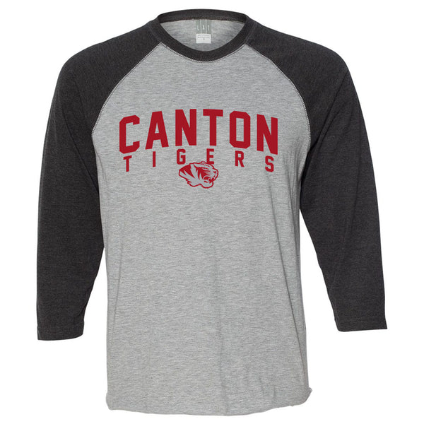 Canton Basketball Baseball T-Shirt