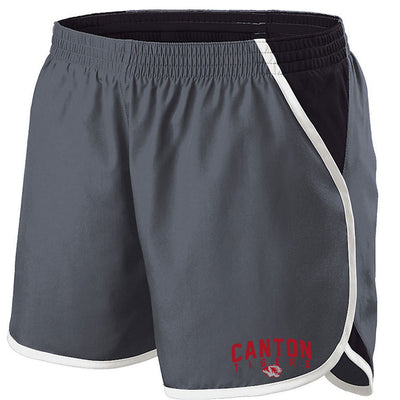Canton Basketball Ladies Shorts