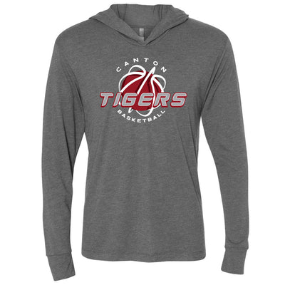 Canton Basketball L/S Triblend Hooded T-Shirt
