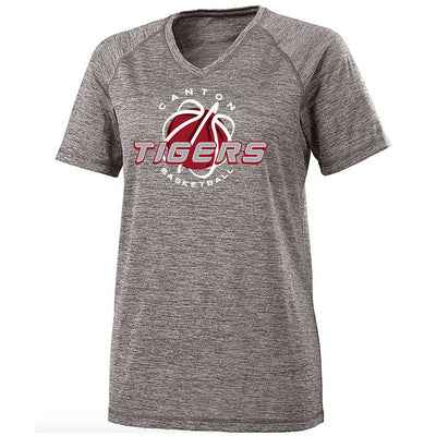 Canton Basketball Ladies Electrify V-Neck