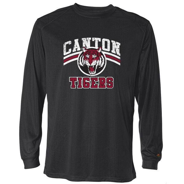 Canton Drifit Long Sleeve Vintage Tiger