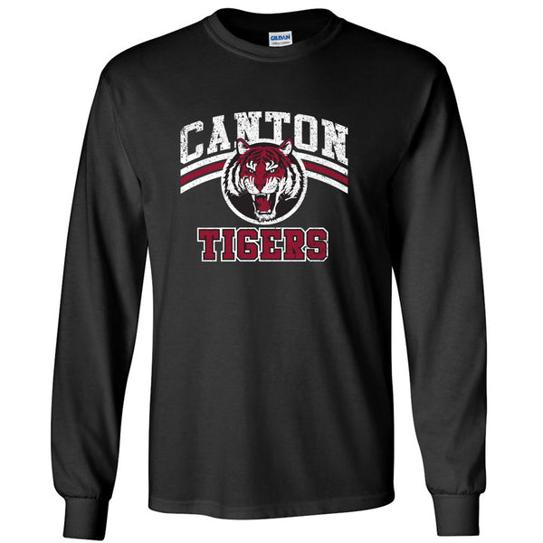Canton Long Sleeve Vintage Tiger