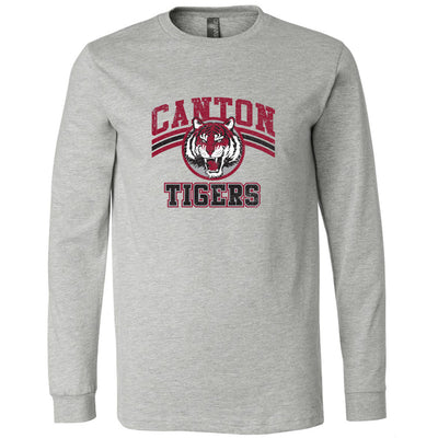 Canton Softstyle Long Sleeve Vintage Tiger