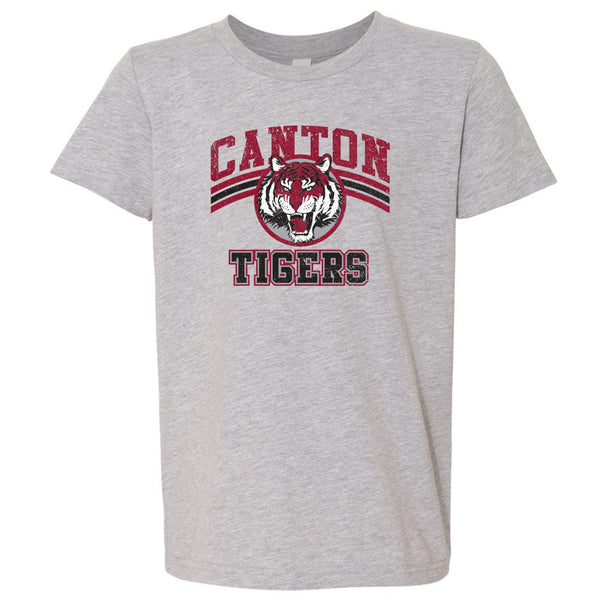 Canton Youth Softstyle Tee Vintage Tiger