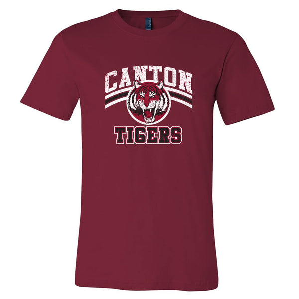 Canton Softstyle Tee Vintage Tiger