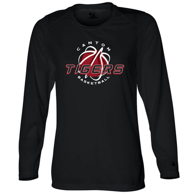 Canton Basketball Ladies Drifit Long Sleeve