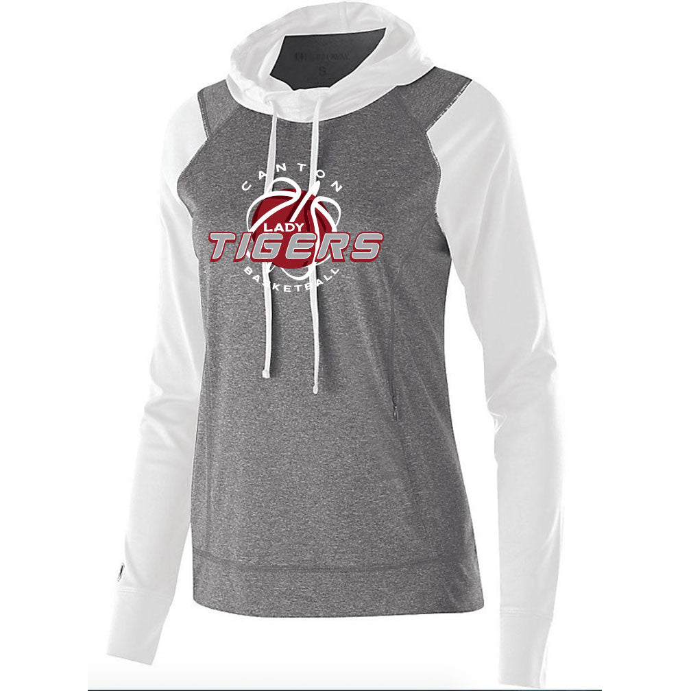 Canton Basketball Ladies Echo Hoodie