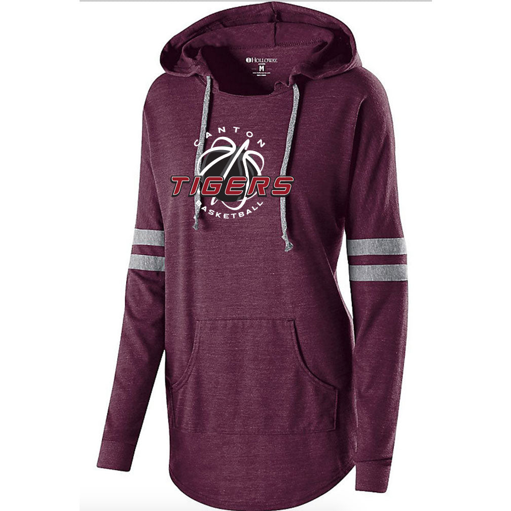 Canton Basketball Ladies Hooded Pullover
