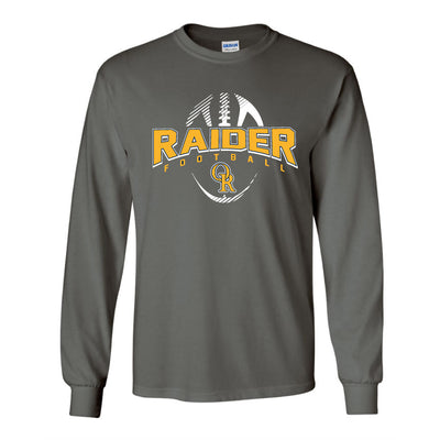 Raider Football 2019 Long Sleeve Tee