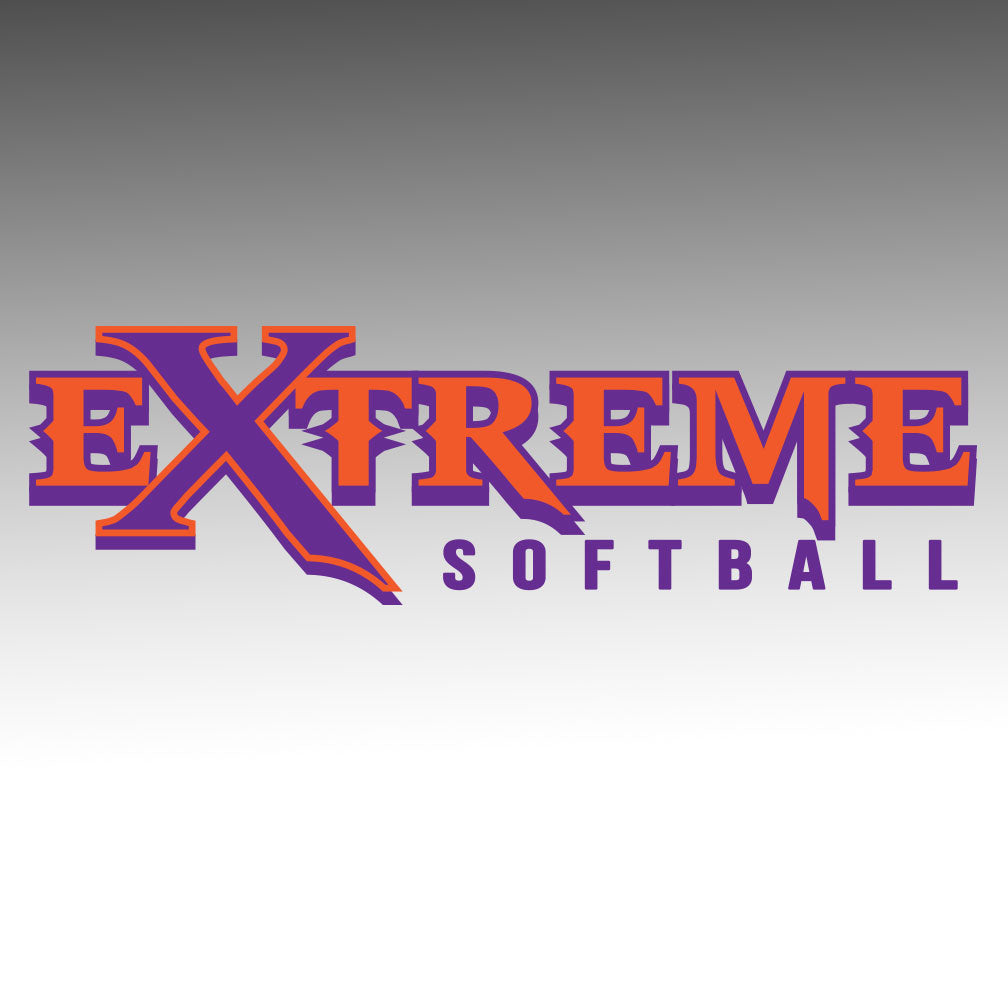 Extreme Softball Window Decal