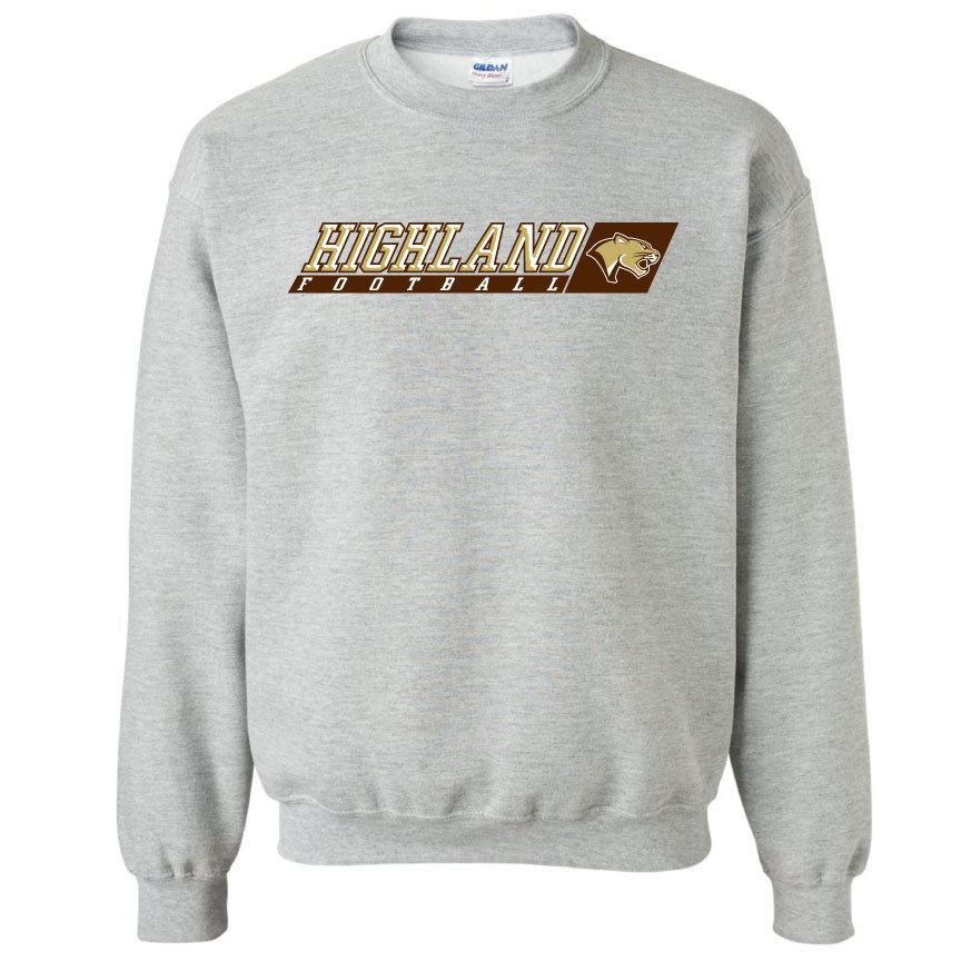 Adult Crewneck with Glitter
