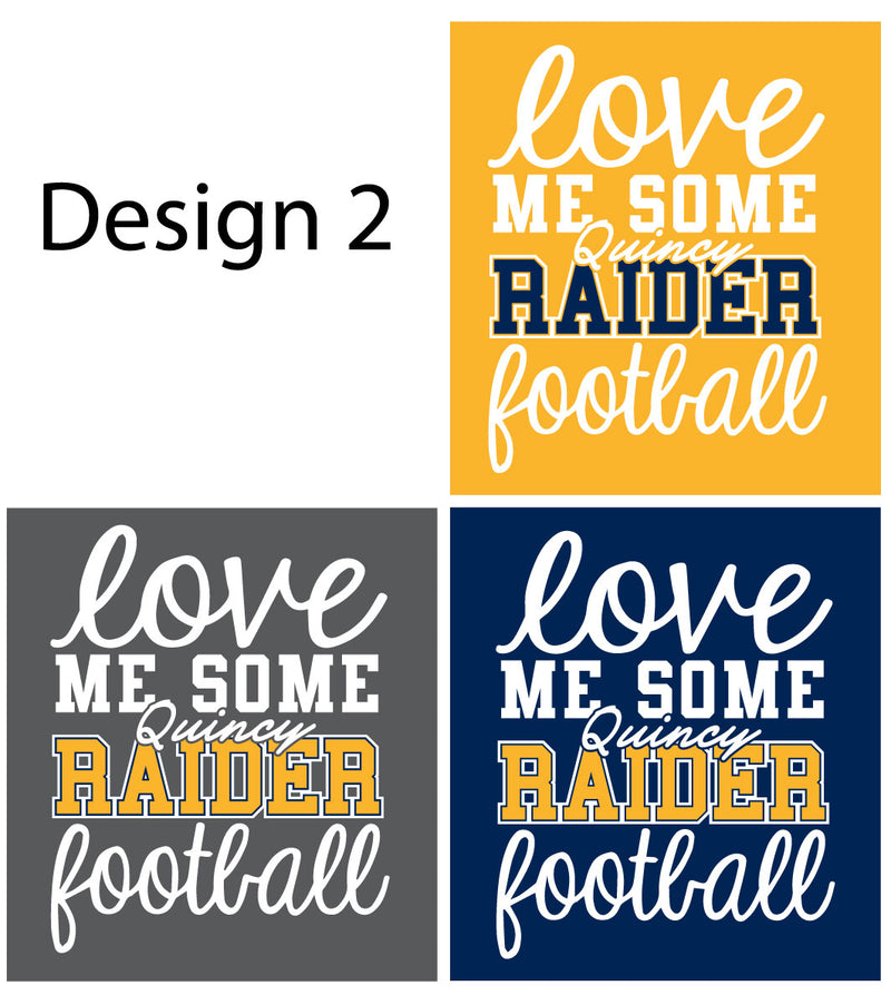 Raider Football 2020 Tonal Blend Drifit Hoodie
