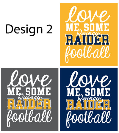 Raider Football 2020 V-Neck Vintage Football Jersey Tee