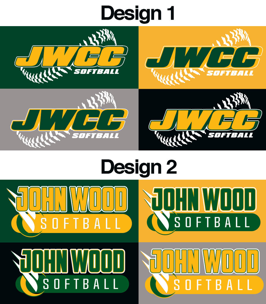 John Wood Softball Vintage T-Shirt