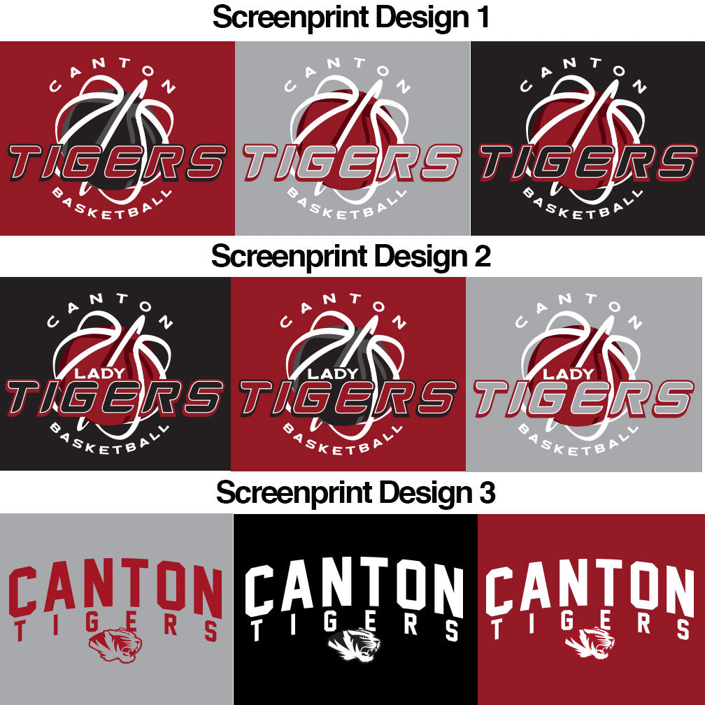 Canton Basketball Softstyle T-Shirt