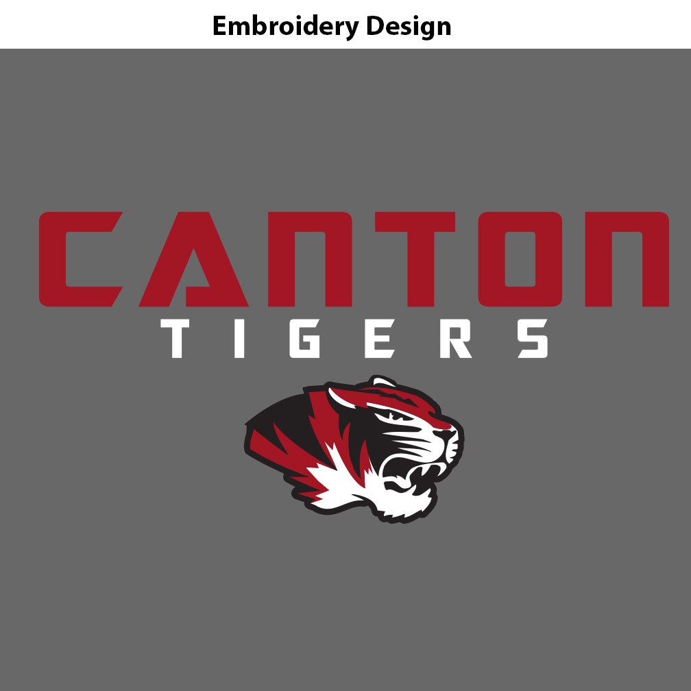Canton Fleece Headband Modern Tiger