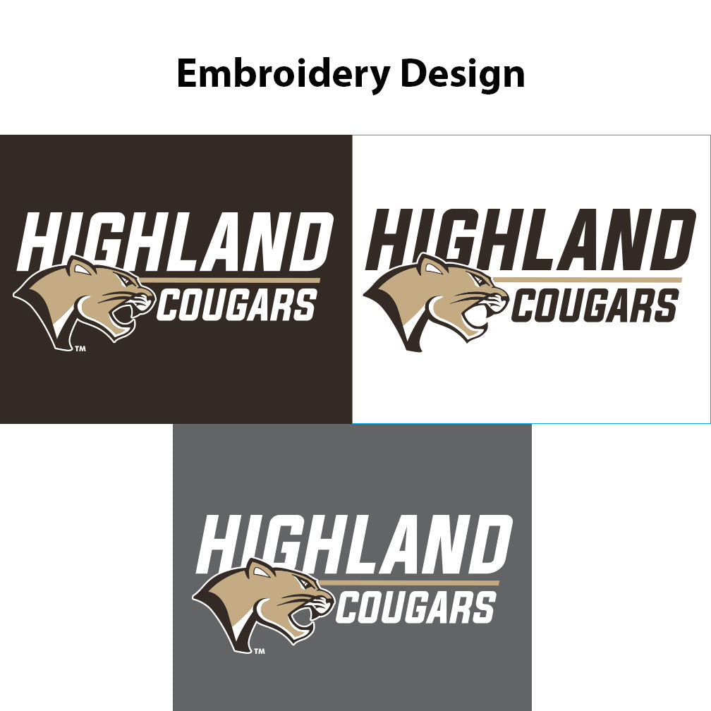 Highland Ladies Electrify 1/4 Zip Stack Cougar