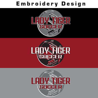 Lady Tiger Soccer Ladies Electrify 1/4 Zip