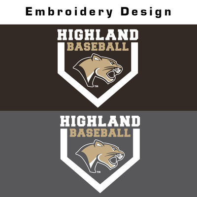 Highland Baseball Nike 1/4 Zip