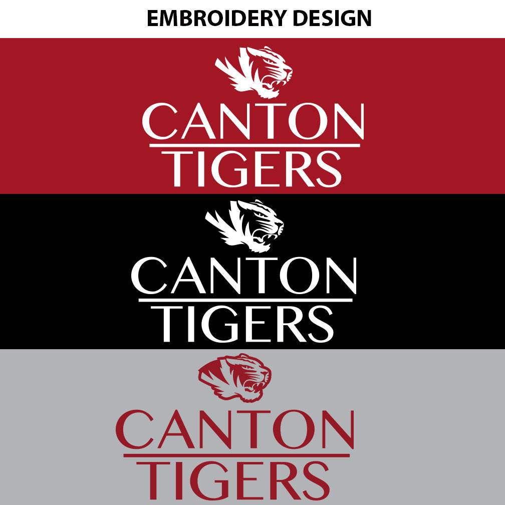 Canton Ladies Vest Stack Tiger