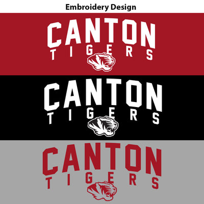 Canton Fleece Lined 1/4 Zip Arched Tiger