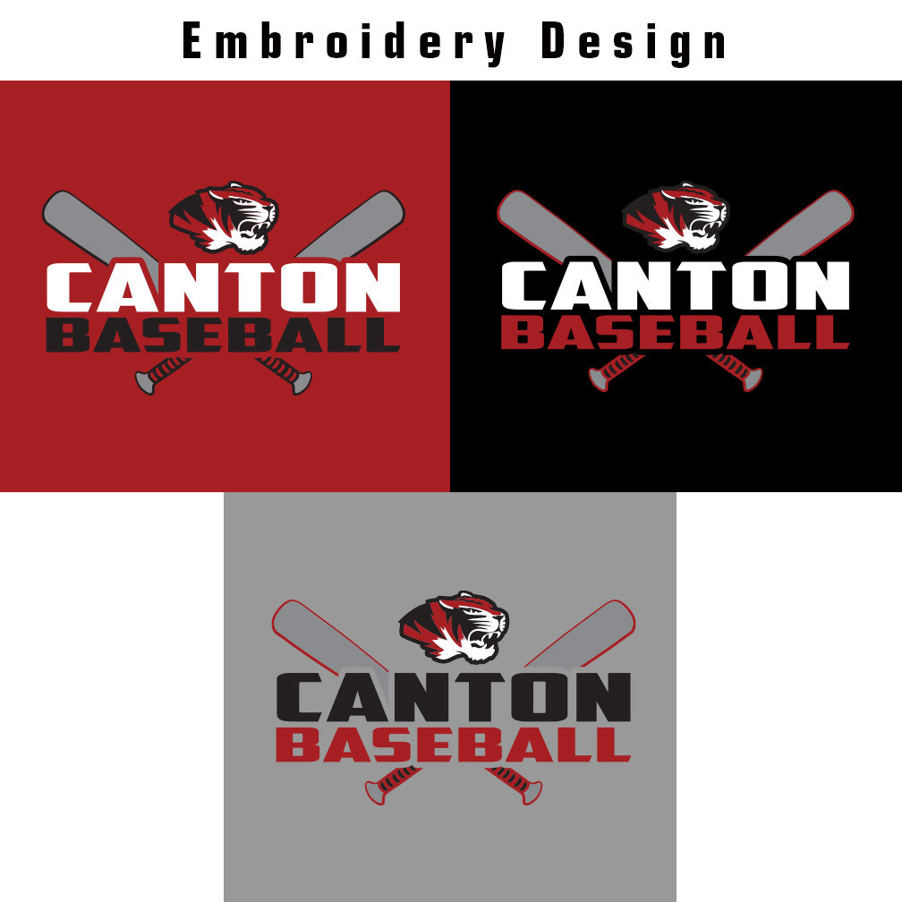 Canton Baseball Vindicator Full Zip Jacket