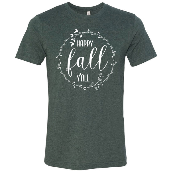 Happy Fall Y'ALL Softstyle T-Shirt