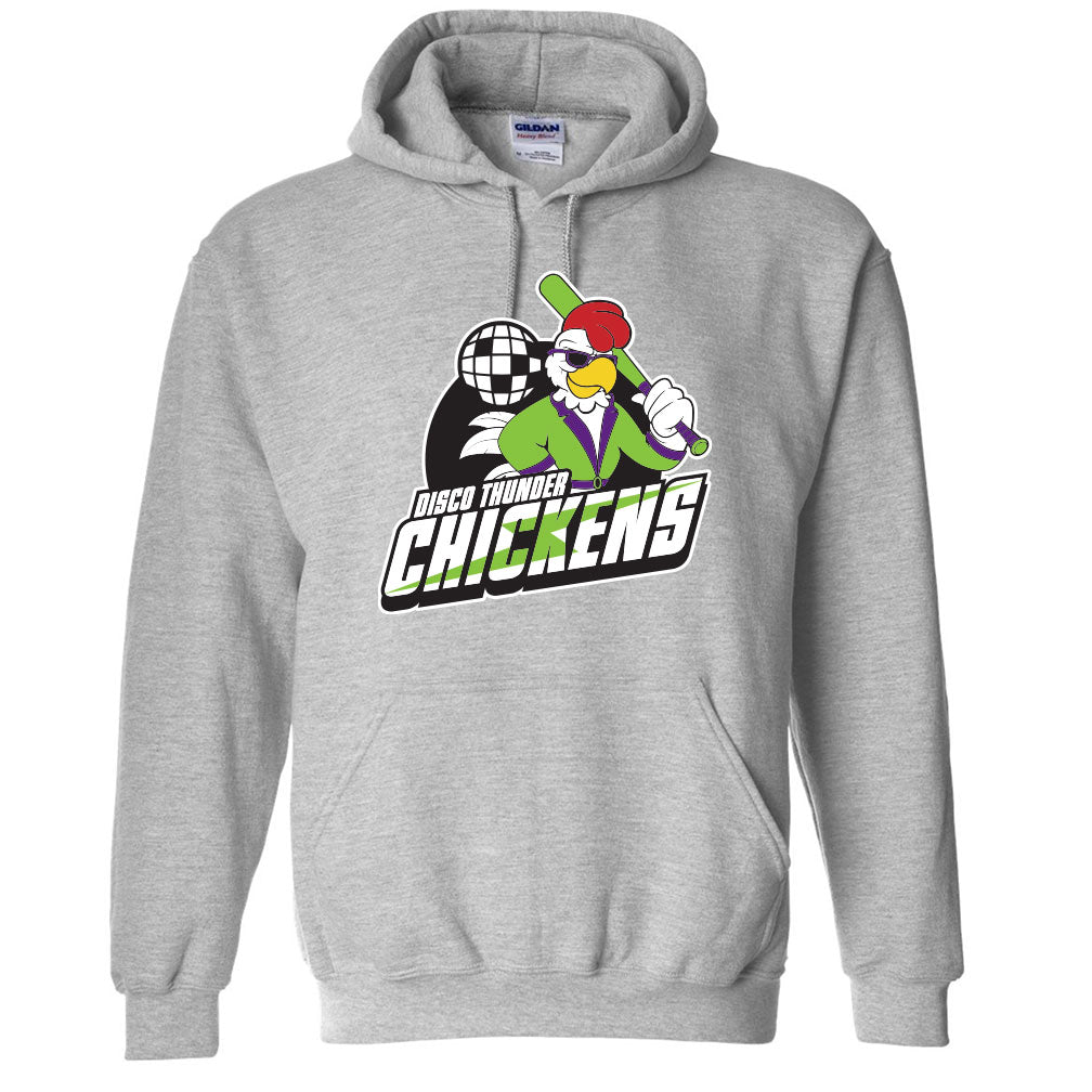 Disco Thunder Chickens Hoodies
