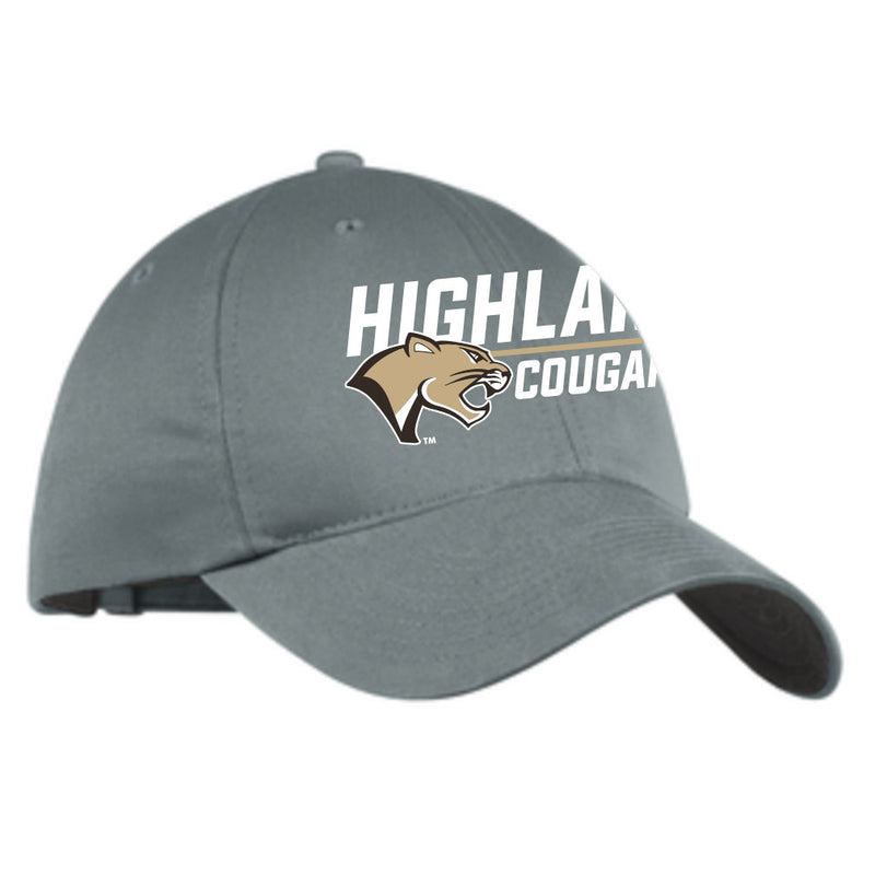 Highland Nike Twill Hat Stack Cougar
