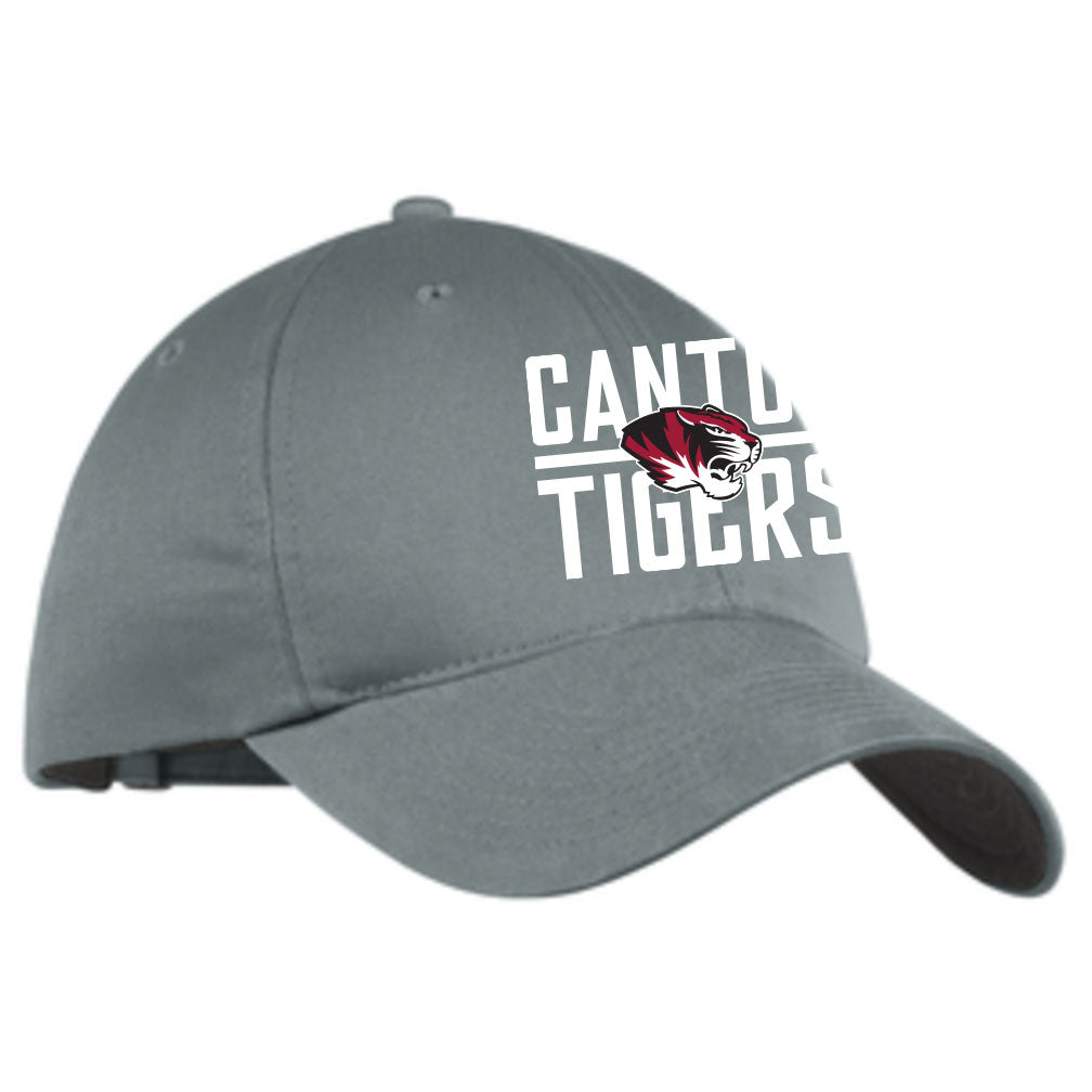 Canton Nike Twill Hat Center Tiger