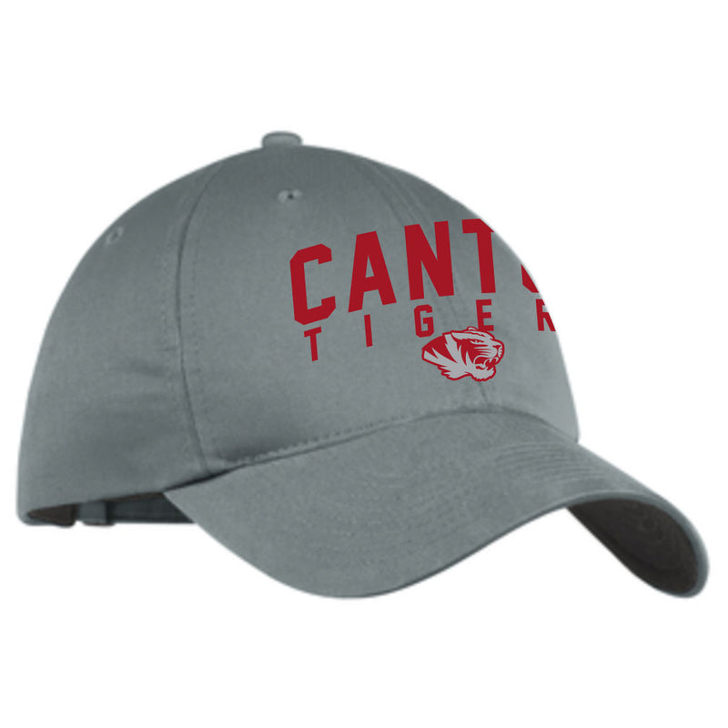 Canton Nike Twill Hat Arched Tiger