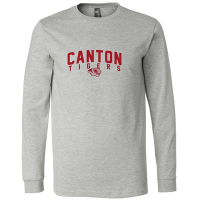 Canton Softstyle Long Sleeve Arched Tiger