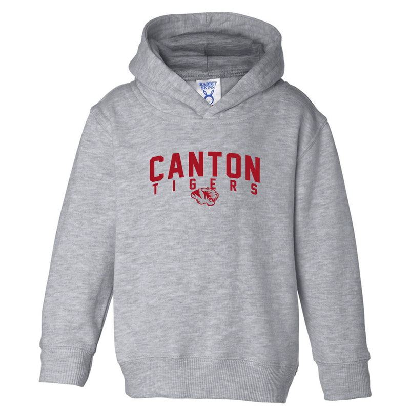 Canton Toddler Hoodie Arched Tiger