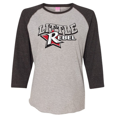 Rebels Ladies Baseball Tee