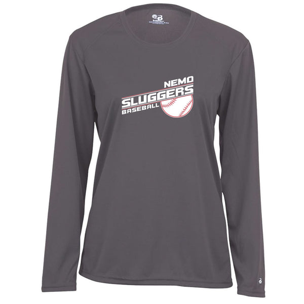 Nemo Sluggers Ladies Drifit Long Sleeve