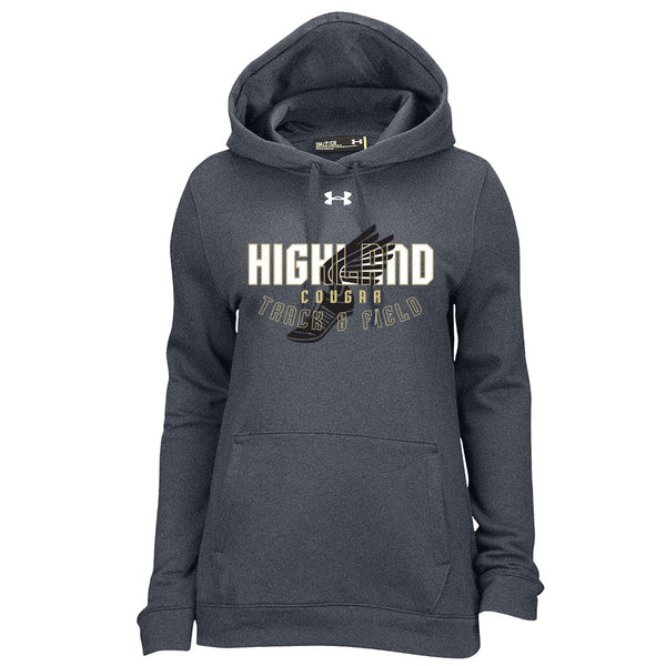 9fc92e50c9ddd Highland Track   Field Ladies Under Armour Fleece Hoodie ...